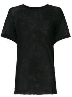 прозрачная футболка  Ann Demeulemeester