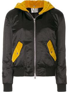 куртка бомбер с капюшоном Route Des Garden