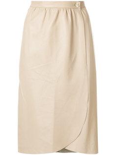 прямая юбка с закругленным подолом  Erika Cavallini
