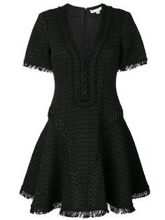 расклешенное платье с V-образным вырезом  Jonathan Simkhai