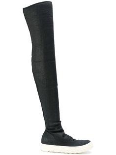 кроссовки-ботфорты Rick Owens DRKSHDW
