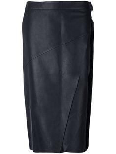 юбка-карандаш с запахом Versus