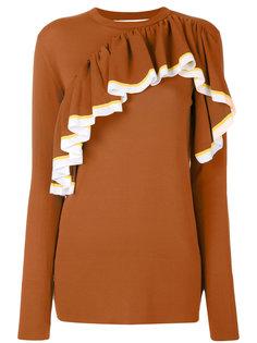 свитер с оборками Marni