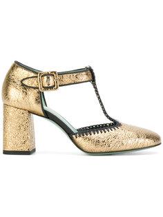 туфли с ремешком на щиколотке Paola Darcano