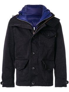 пальто с капюшоном  Ten-C