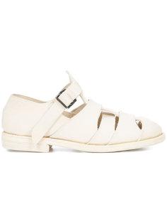 сандалии с перфорацией  Guidi