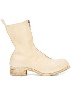 ботинки на молнии спереди Guidi