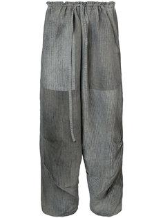 полосатые брюки карго  Forme Dexpression