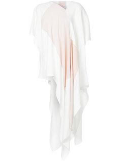асимметричная блузка Roksanda