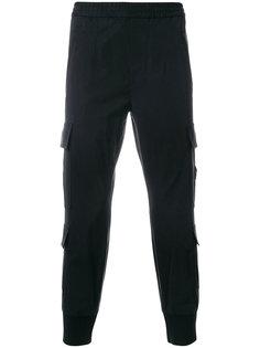 зауженные брюки-карго Neil Barrett