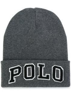 шапка с логотипом Polo Ralph Lauren