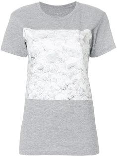 футболка с мраморным принтом  Ih Nom Uh Nit