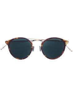 круглые солнцезащитные очки с эффектом черепашьего панциря Eyevan7285