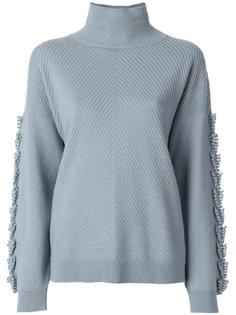 свитер с оборкой  Barrie