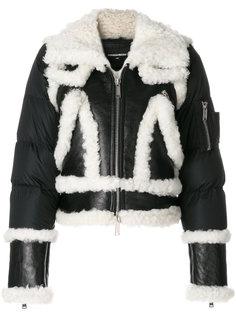 куртка со вставками  Dsquared2