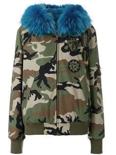 камуфляжная парка с капюшоном  Furs66