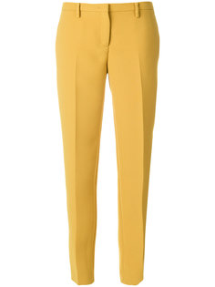 креповые брюки слим  Nº21