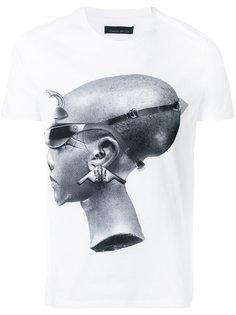 футболка с фото-принтом Frankie Morello