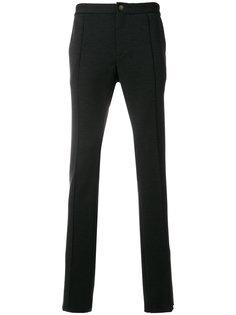 брюки кроя слим Versace