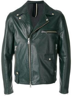 байкерская куртка на молнии Low Brand