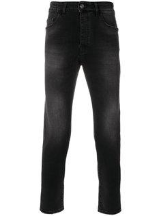 джинсы скинни с выцветшим эффектом Low Brand
