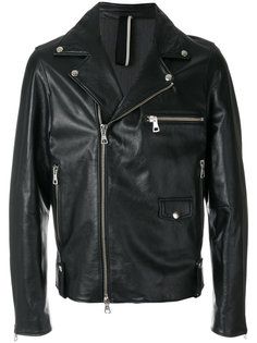байкерская куртка мешковатого кроя Low Brand