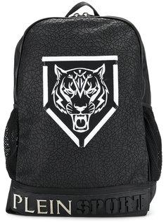 рюкзак с принтом-логотипом Plein Sport