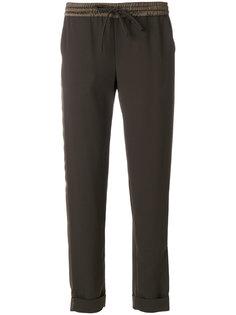 брюки  с элатсичным поясом P.A.R.O.S.H.