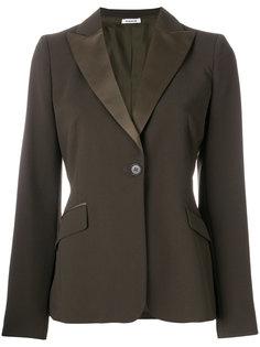 пиджак с шелковыми лацканами P.A.R.O.S.H.