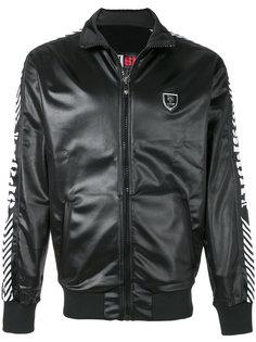 куртка-бомбер с панельным дизайном Plein Sport