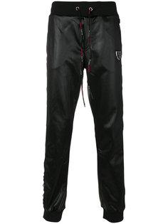 спортивные брюки с эластичным поясом Plein Sport
