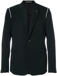 пиджак с открытой строчкой Dior Homme