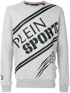 толстовка с принтом-логотипом Plein Sport