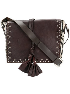 сумка через плечо с зебровым узором  P.A.R.O.S.H.