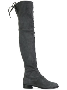 lace-up over-the-knee boots Stuart Weitzman
