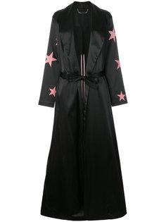 куртка с поясом и звездами  Philipp Plein