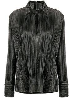 блузка с высокой горловиной Pierre Balmain