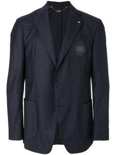 пиджак с накладными карманами  Billionaire
