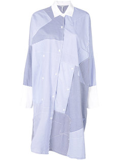 платье-рубашка в стиле пэчворк  Loewe