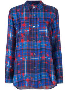 рубашка в шотландку Tommy x Gigi Tommy Hilfiger