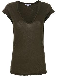 трикотажная футболка  James Perse