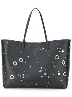 сумка-тоут с люверсами Alexander McQueen