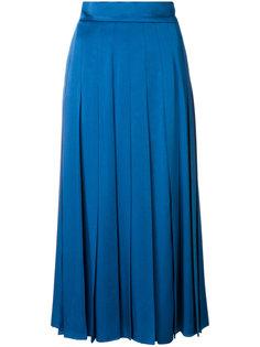 плиссированная юбка миди Fendi