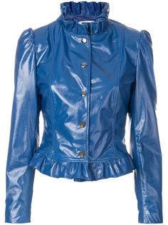 укороченная куртка на заклепках Vivetta