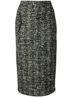 юбка-карандаш с молнией  Nº21