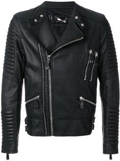 байкерская куртка Jin Philipp Plein