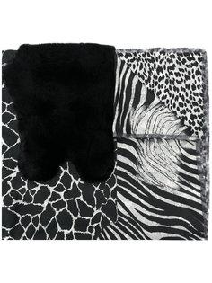 шарф с принтом шеврон Pierre-Louis Mascia