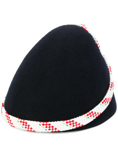 шляпа с контрастной лентой Henrik Vibskov