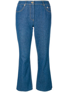 расклешенные джинсы с аппликацией John Galliano Vintage