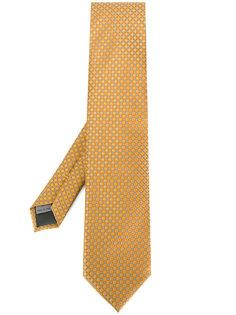 галстук с геометрическим принтом Canali